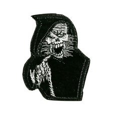 Grim Reaper Skull Skeleton Embroidered Sew or Iron on Patch Applique Badge