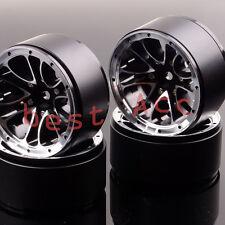 """For RC 1:10 Rock Crawler Axial SCX10 D90 4xWheel Rim 1.9"""" Beadlock 1051 Aluminum"""