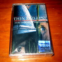 THE THIN RED LINE Hans Zimmer Soundtrack Made in Bulgaria cassette BG Edition