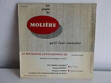 MOLIERE Le bourgeois gentilhomme FRERES JACQUES DENISE BENOIT FABBRI 190E886