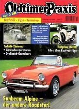 OP9610 + MOTO GUZZI Galetto + SUNBEAM Alpine + Oldtimer Praxis 10/1996