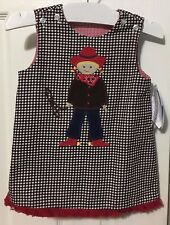 NWT THE BAILEY BOYS GIRL'S REVERSIBLE JUMPER SIZE 12 MONTHS