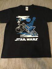 Authentic Star Wars Darth Vader Osaka Japan Collaboration Lucas Film Navy Blue