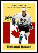 2000-01 Upper Deck Vintage Paul Kariya #HH1