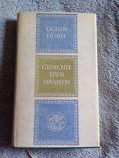Gedichte Epen Dramen / Eichen Dorff - Hardback Book w/ Dust Cover