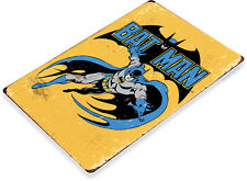 "TIN SIGN ""Bat Man"" Comic Metal Decor Wall Art Store Shop Cave A235"