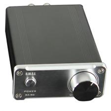 SMSL SA50 50Wx2 TDA7492 Class D  Amplifier + Power Adapter (Silver)