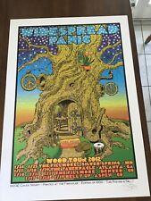 Rare Chuck Sperry Widespread Panic poster 2012 Wood Tour not Beacon Matthews