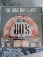 The Juke Box Years - Eighties - 80s - 12 Track CD Album SAN480s