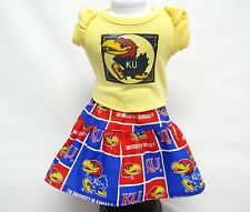 "Kansas University""Jayhawks"" Outfit For 18 Inch Doll"
