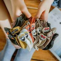 Kawaii Embroidered Expression Women Fashion Cotton Socks Ankle Funny Socks 1Pair