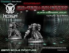 Hitech Miniatures - 28SF015 Alpha Corporis Four 28mm Warhammer 40k 40000