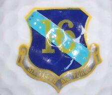 (1) AIR FORCE SIX TEENTH 16th UNITED STATES MILITARY LOGO GOLF BALL