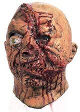 SLASHED Face Gruesome Halloween Mask