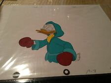 8 of Disney's Donald Duck cells Boxer in near Sequence w. 8 production drawing