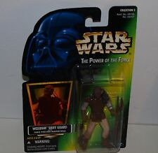 Star Wars  figurine Kenner weequay skiff guard neuf en boite