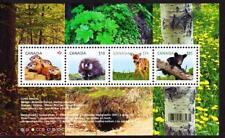 Canada MNH 2013 souvenir sheet sc# 2602 Baby Wildlife Definitives