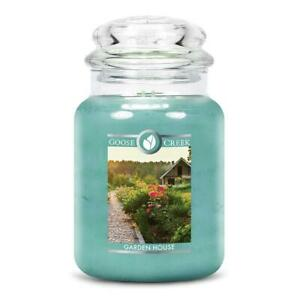 Goose Creek Double Wick Large Candle Jar - Garden House