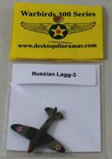 Desktop Dioramas Warbirds Russian Pre-Painted 1:300  Russian Lagg-3 Pack New