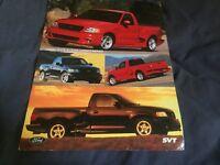 2000 Ford F-150 Lightning SVT Color Brochure Sheet  Prospekt