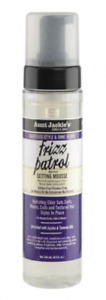 Aunt Jackie's Grapeseed Frizz Patrol Setting Mousse 8.5 0z Best Price