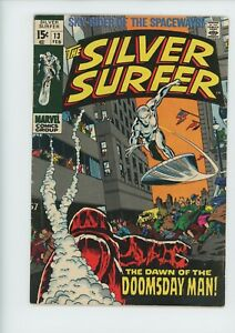 SILVER SURFER #13 Marvel comic book from 1970...a $55.00 VALUE for only $9.95!