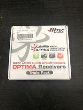 hitec optima 7 triple pack receivers 29432