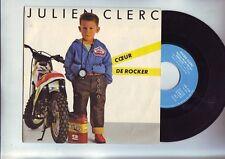 disque 45 T julien clerc - avec mon coeur de rocker -
