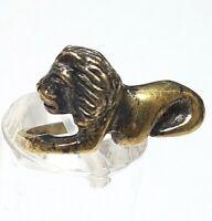 Jugendstil Silber Ring 925 Silber punz. Hersteller Punze-Löwe um 1910 RG 55 A411