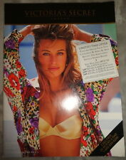 Vtg Victoria's Secret catalog 1993 Karen Mulder Stephanie Seymour lingerie swim