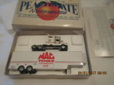 Peachstate Motorsports Collectibles Semi Truck Transporter MAC TOOLS Limited Ed.