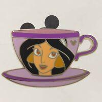 JASMINE Aladdin Princess Teacups Hidden Mickey 2009 Disney Pin 71405