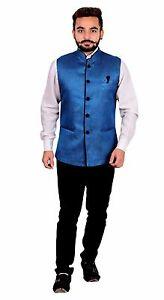 Men's Nehru style Waistcoat for kurta shalwar kameez Bollywood theme Party 1012