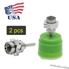 2pcs Air Turbine Dental Cartridge Standard Push Button For High Speed Handpiece