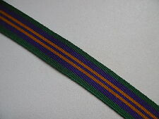 MYB198C Accumulated Campaign Service Medal (ACSM) 2011 Ribbon Miniature 15cm