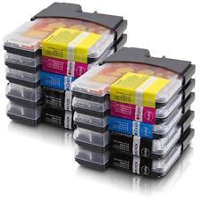 10 Druckerpatronen für Brother LC1100 MFC 5890 CN