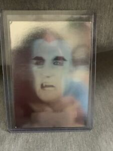1992 PIZZA HUT DRACULA HOLOGRAM TRADING Card Trick or Treat Card Great Condition