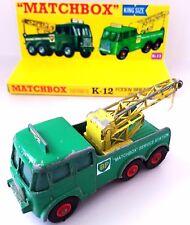 MATCHBOX KING SIZE K-12 FODEN BREAKDOWN TRACTOR BP Tow Truck & Custom Display