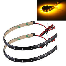 2 STRIP STRISCIA ADESIVA IMPERMEABILE 15 LED ARANCIONE CM 30 HK