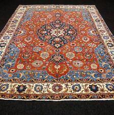 Antiker Orient Teppich 367 x 280 cm Alter Perserteppich Antique Old Carpet Rug