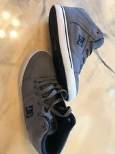 Dc Sneakers Size 6 Grey Blue