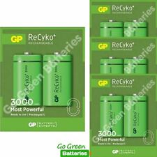 8 x GP Recyko C Size 3000 mAh Rechargeable Batteries, NiMH HR14, Ready to use