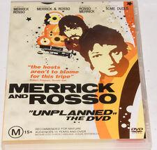 Merrick & Rosso - Unplanned (DVD, 2004, Sony) Region Free