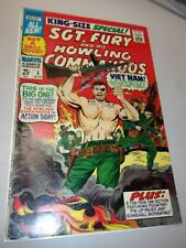 Sgt. Fury and his Howling Commandos King-Size Special Annual #3 VF+ Grade