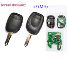 Schlüssel Rohling Gehäuse Für Renault Master Kangoo Clio Twingo 433MHz PCF7946