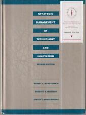 STRATEGIC MANAGEMENT OF TECHNOLOGY AND INNOVATION PRIMA EDIZIONE