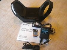 Sony MDRRF925RK Transmitter, AC Adapter, Battery, Earpads cush & Connecting cord