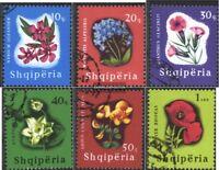 Albanien 988-993 (kompl.Ausg.) gestempelt 1965 Blütenpflanzen
