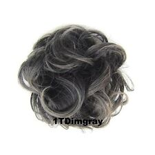 Synthetic Hair Flexible Scrunchie Wrap For Wave Curly Hair Bun Ponytail 44 Color