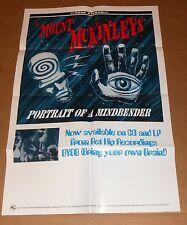 The Mount McKinleys Portrait of a Mind Bender Poster 1995 Original Promo 33x22